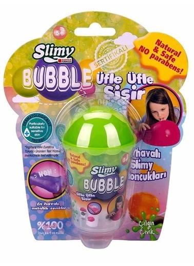 Slimy Slimy Bubble Slime 60 gr Yeşil Yeşil